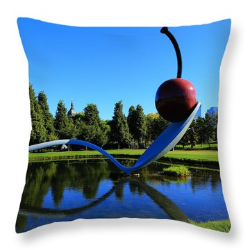 Spoonbridge And Cherry 3 Throw Pillow