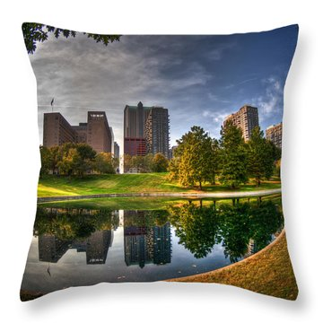 Throw Pillow featuring the photograph Spoonful Of St. Louis by Deborah Klubertanz