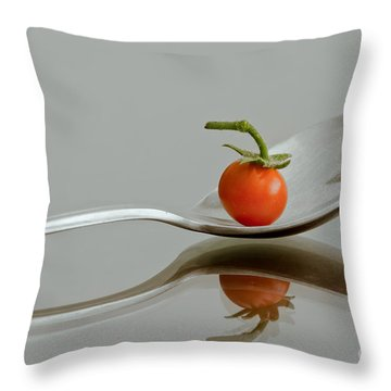 Spoonful Of Vitamin Throw Pillow by Jonathan Nguyen
