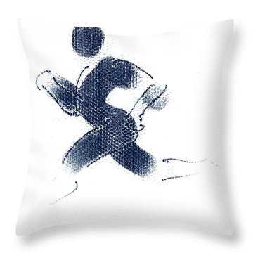 Sport A 1 Throw Pillow by Theo Danella