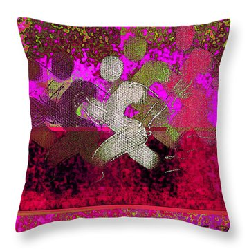 Sport B 3 Throw Pillow by Theo Danella