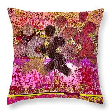 Sport B 4 B Throw Pillow by Theo Danella