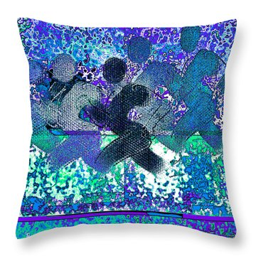Sport B 4 D Throw Pillow by Theo Danella