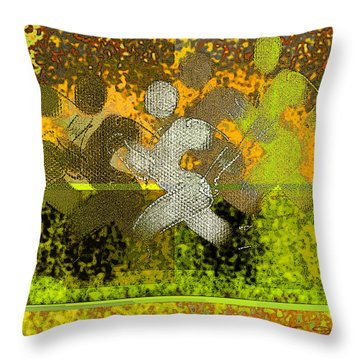 Sport B 5 B Throw Pillow by Theo Danella