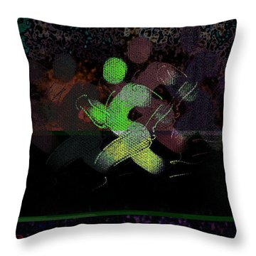 Sport B 7 Throw Pillow by Theo Danella