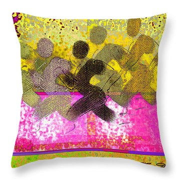 Sports B 2 Throw Pillow by Theo Danella