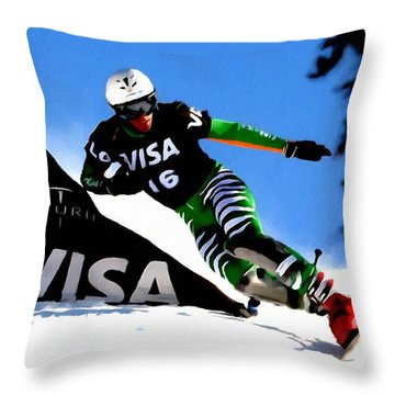 Sports  Throw Pillow by Lanjee Chee