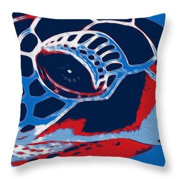 Spot Throw Pillow by Jack Zulli