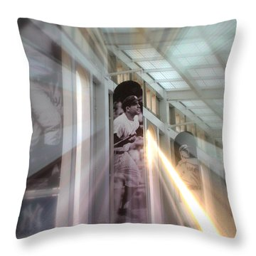 Spotlight On Yogi Throw Pillow