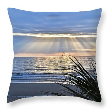 Light Of The Way Throw Pillow