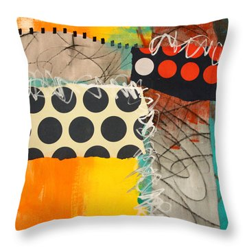 Spotted Fever 1 Throw Pillow