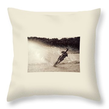 Missouri Spray Throw Pillow