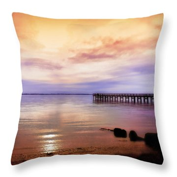 Throw Pillow featuring the photograph Spreading The Light by Ola Allen