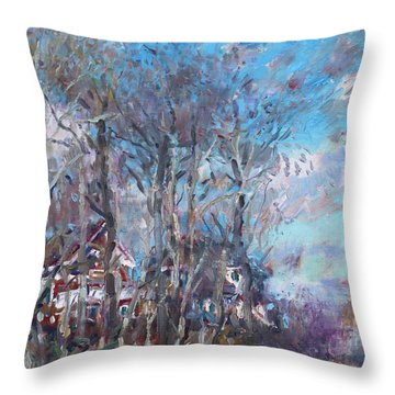 Spring 2013 Throw Pillow by Ylli Haruni