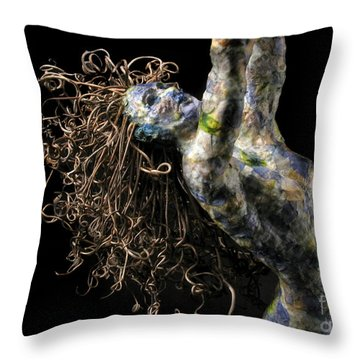 Spring Throw Pillow by Adam Long