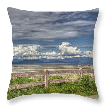 Spring Afternoon Throw Pillow by Randy Hall