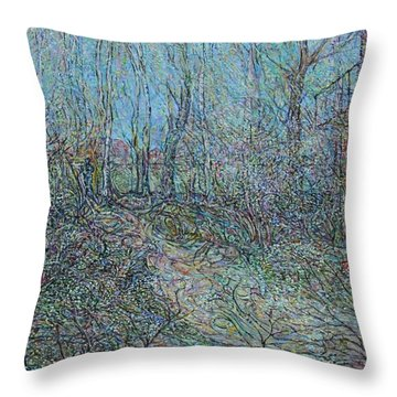 Spring Again Throw Pillow