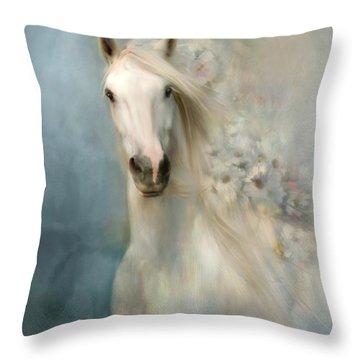 Spring Arrival Throw Pillow