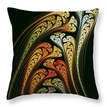 Spring Bulbs Throw Pillow