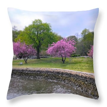 Spring Cove Throw Pillow