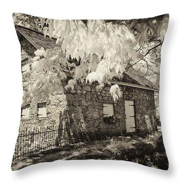 Spring Creek Mill Throw Pillow