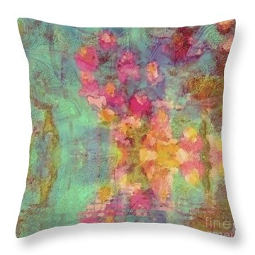 Spring Dream Throw Pillow