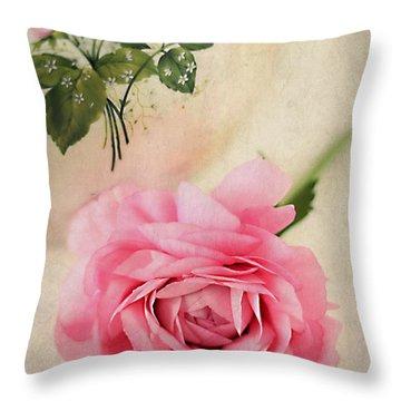 Spring Elegance Throw Pillow by Darren Fisher