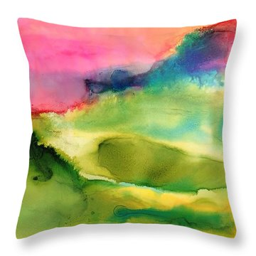 Spring Equinox  Throw Pillow by Tara Moorman