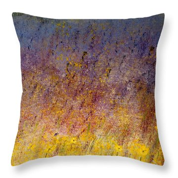 Spring Flowers Throw Pillow by Tim Townsend