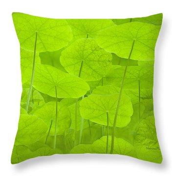 Spring Green L Throw Pillow