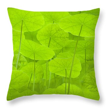 Spring Green L Throw Pillow