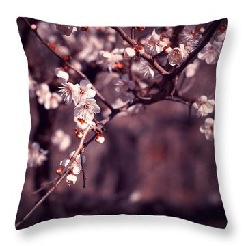 Spring Has Come Throw Pillow by Rachel Mirror