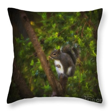 Spring Has Sprung Throw Pillow by Cris Hayes
