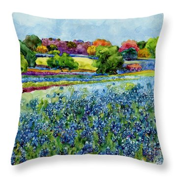 Spring Impressions Throw Pillow