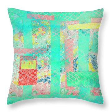 Spring In China Throw Pillow