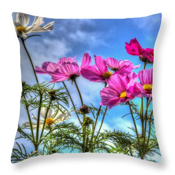 Spring In Full Swing Throw Pillow by Heidi Smith