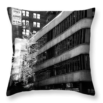 Spring In Manhattan Throw Pillow by James Aiken