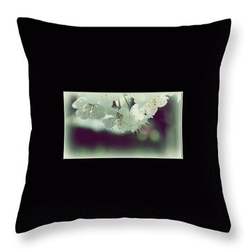 Throw Pillow featuring the photograph Spring In My Heart by Marija Djedovic