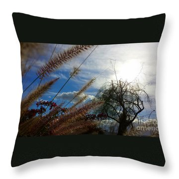 Spring In The Air Throw Pillow