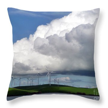 Spring In The Delta Throw Pillow