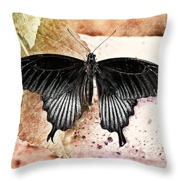 Spring Is Here Throw Pillow by Floyd Menezes
