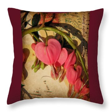 Spring Love Throw Pillow by Chris Berry