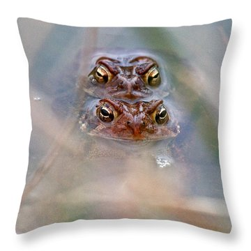 Spring Love Throw Pillow