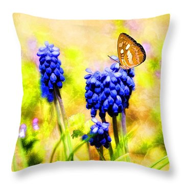 Spring Magic Throw Pillow by Darren Fisher