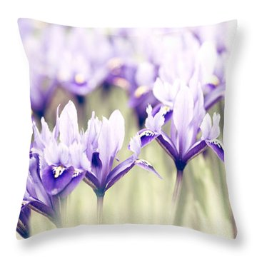 Spring March Throw Pillow