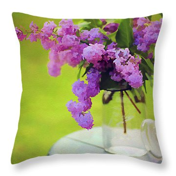 Spring Memories Throw Pillow by Darren Fisher