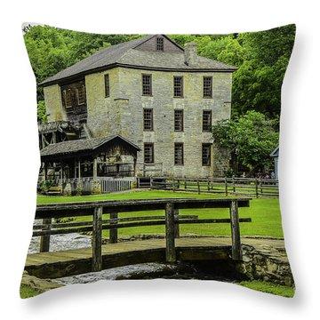 Spring Mill Throw Pillow