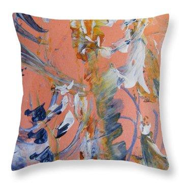 Spring Throw Pillow by Nancy Kane Chapman