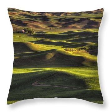 Spring On The Palouse Throw Pillow