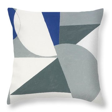 Spring Painting, 2007 Oil On Canvas Board Throw Pillow